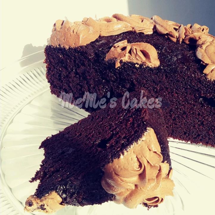 MeMe's perfect chocolate cake