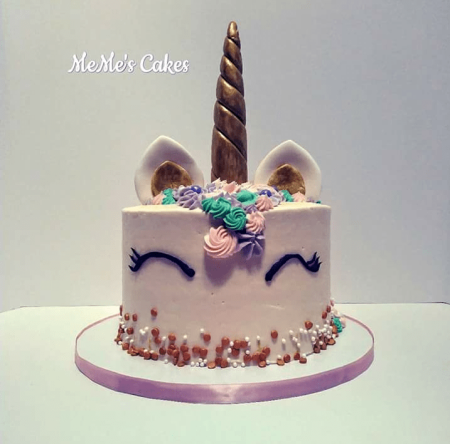 Unicorn cake design