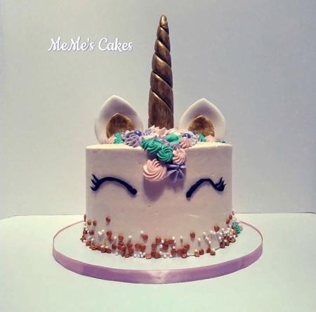 Unicorn cake design