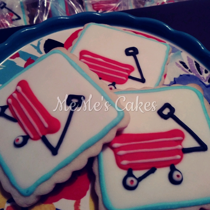 Red Wagon Sugar Cookies