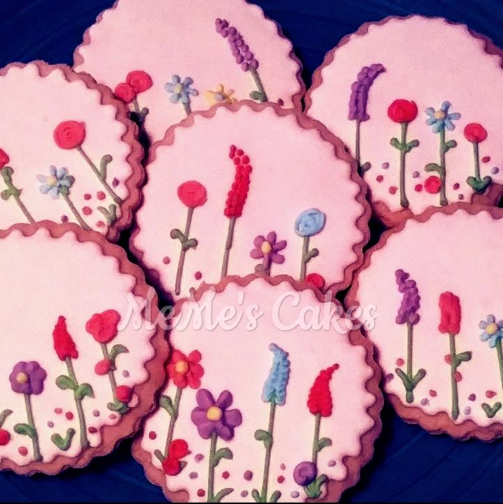 Flower Garden Sugar Cookies