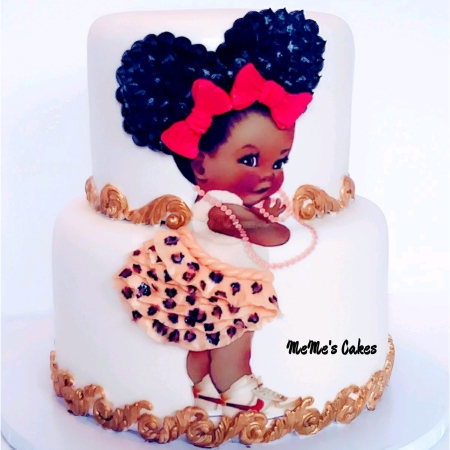 edible image baby shower cake